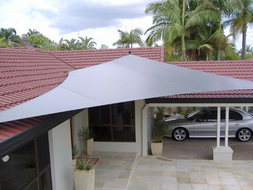 Waterproof Shade Sails For Patios Amp Weather Sails Hunter